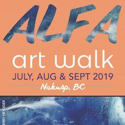 Arrow Lakes Fine Arts Guild Artwalk