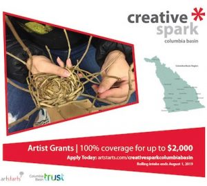 Creative Spark Columbia Basin Grants