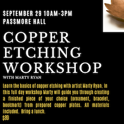 Copper Etching Workshop