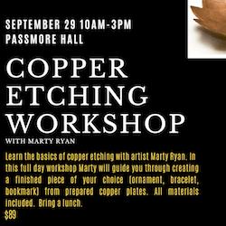 Copper Etching Workshop