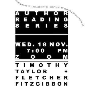 Author reading  – November 18th